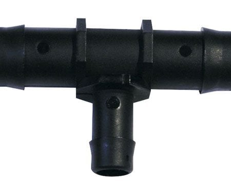16mm/12mm Barb Reducer Tee